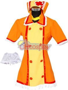 Vocaloid Kagamine Rin Nurse Cosplay Costume