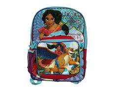 Disney Elena of Avalor Backpack with Lunchbox ** To view further for this item, visit the image link. Disney Lunch Box, Best Kids Backpacks, 16 Year Old, Disney Princesses, Baby Kids, Lunch Boxes, Vacation Ideas, Image Link, Fun