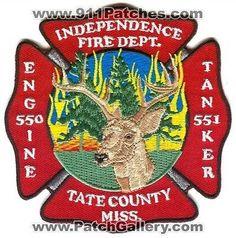 Independence Fire Department Engine 550 Tanker 551 Station Deer Patch Mississippi MS