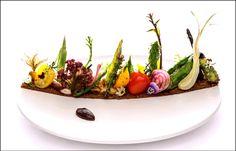Un potager dans l'assiette - Vegetable on plate - Vegetal en la placa Un potager directement dans l'assiette ! ;) (Yukawatan resto) L'art de dresser et présenter une assiette comme un chef de la gastronomie... http://www.facebook.com/VisionsGourmandes Ou sur le site pour profiter d'autres rubriques… http://visionsgourmandes.com . > Photo à aimer et à partager ! ;) #gastronomie #gastronomy #chef #presentation #presenter #decorer #plating #recette #food #dressage #assiette #artculinaire