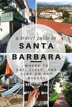 travel guide to santa barbara