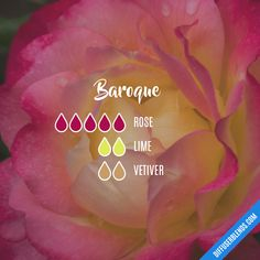 Baroque - Essential Oil Diffuser Blend- Try barefūt Essential oils today. organically grown, ethically produced and free from chemicals or pesticides. Our oils do not contain fillers, additives, or any other type of dilution. Essential Oils Guide, Rose Essential Oil, Essential Oil Perfume, Doterra Essential Oils, Doterra Oil, Pure Essential, Elixir Floral, Essential Oil Combinations, Perfume Recipes