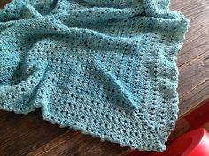 Pretty blue shawl