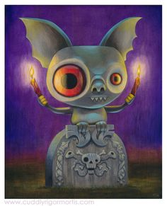 Cuddly Rigor Mortis (Kristin Tercek) Cute artist illustrations. Adorable creatures and critter drawings and digital art. Childrens art and character sketches.
