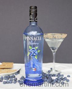 Blueberry Pie Martini #pinnacle #pie #martini so easy and sooo good.