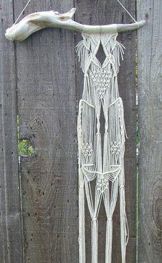 Macramé Wall Hanging,  freecreatures, Etsy