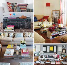 21 maneiras de usar os livros na decoração - Casinha Arrumada