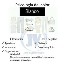 Psicología del color: blanco