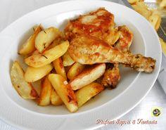 Le cosce di pollo come fritte ma al forno saranno la pietanza preferita di tutta la famiglia. Croccanti fuori e morbide dentro sono deliziose.