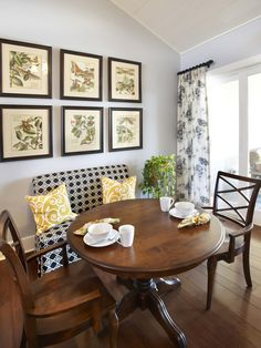 Dining Room Upholstered Storage Bench Design, Pictures, Remodel, Decor and Ideas