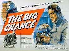 The Big Chance. UK. Adrienne Corri, William Russell, Ian Colin, Ferdy Mayne. Directed by Peter Graham Scott. 1957