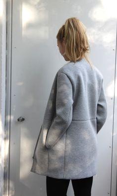Back view of neoprene jacket