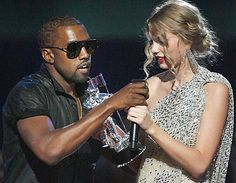 Kanye West / and Taylor Swift incedent / Dick of the Decade Award goes to Kanye West! / I just really dislike this douche bag!