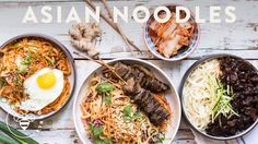 3 INCREDIBLE ASIAN NOODLE DISHES - Honeysuckle - YouTube