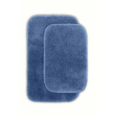 Garland Rug Finest Luxury Bath Rug (Set of 2) - Color: Basin Blue at Sears.com