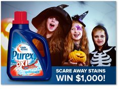 Enter to WIN $1,000 and a year's supply of Purex plus Oxi!