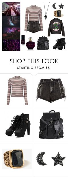 Designer Clothes, Shoes & Bags for Women Cute Emo Outfits, Punk Outfits, Teen Fashion Outfits, Classy Outfits, Stylish Outfits, Girl Outfits, Riverdale Halloween Costumes, Riverdale Fashion, Casual Cosplay