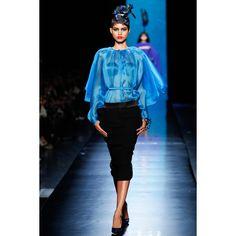Jean Paul Gaultier  #VogueRussia #couture #springsummer2014 #JeanPaulGaultier #VogueCollections