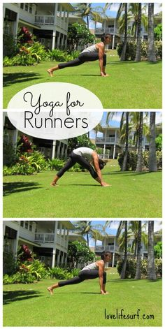 Yoga for Runners from Love, Life, Surf
