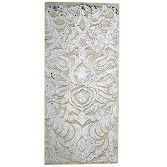 Mirrored Damask Panel - Champagne from Pier 1.  One of my favorite wall pieces.  Looks great  over my fireplace