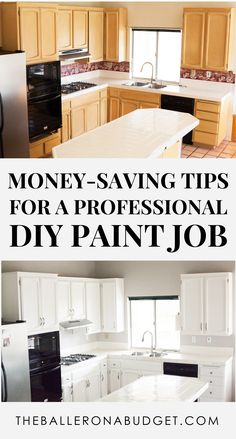 Expensive or cheap paint for my walls? Hire painters or do it myself? What kind of brushes do I need? How can I ensure an opaque coverage without wasting paint? Here's an in-depth tutorial on how to paint your walls without hiring painters or paying tons of money on expensive paint. - www.theballeronabudget.com
