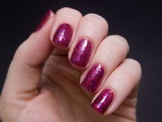 GlitterDaze Love At First Site Collection ~ One Grape Love (3 coats) available on Etsy