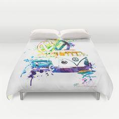 Vw, Bed Pillows, Bedroom Ideas, Pillow Cases, Cool Stuff, Pillows, Dorm Ideas
