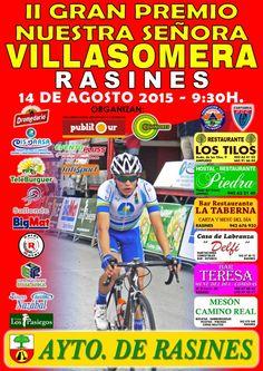 cartel GP NUESTRA SEÑORA VILLASOMERA 2015 Rasines junior