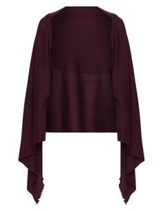 Wool blend cover-up by Isolde Roth. Shop now