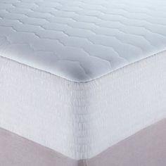 DeepSleep Ultra Comfort Mattress Pad, White