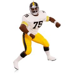 "NFL Pittsburgh Steelers Joe ""Mean Joe"" Greene Ornament"