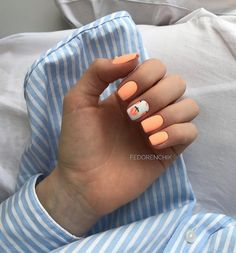 What Christmas manicure to choose for a festive mood - My Nails Summer Acrylic Nails, Best Acrylic Nails, Acrylic Nail Designs, Nail Manicure, Nail Polish, Teen Nails, Fire Nails, Dream Nails, Stylish Nails