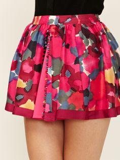Twenty8Twelve | Silk Mini Skirt
