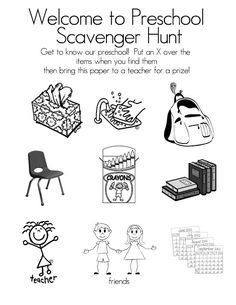 Photo Scavenger Hunt** Updated 3/2/14 **I changed the