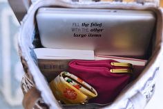 how to organize your purse #purse #handbag #organize