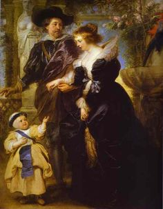 Rubens, His Wife Helena Fourment, and Their Son Peter Paul  Peter Paul Rubens  Media Oil  Style Baroque  Subject Children