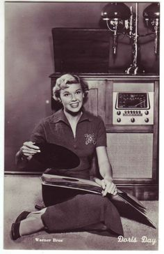 Doris Day - reminds me of watching these movies with my mom.