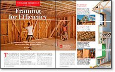 The Passive House Build, Part 4: Framing for Efficiency - Fine Homebuilding Video