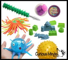 Sensory Tactile Toy Assortment Bundle for Children and Adults