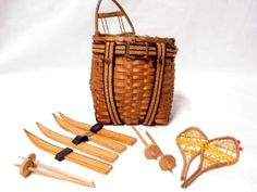 Minature Pack Basket Set