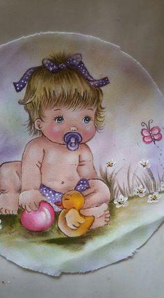 Resultado de imagem para panos de prato de vaquinha Brother Innovis, Diy And Crafts, Paper Crafts, Cute Baby Dolls, Baby Drawing, Color Pencil Art, Baby Cartoon, Digi Stamps, Whimsical Art