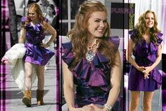best movie, confessions of a shopaholic isla fisher lanvin dress English Comedians, Confessions Of A Shopaholic, Isla Fisher, Two Daughters, Three Kids, Lanvin, Good Movies, Actresses, Purple