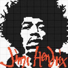 Crochet Jimi Hendrix Wall Hanging (OC) - Imgur