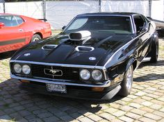Ford Mustang Mach 1  Love.