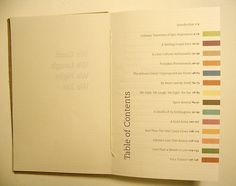 Table of Contents: Creative Examples | Smashing Magazine