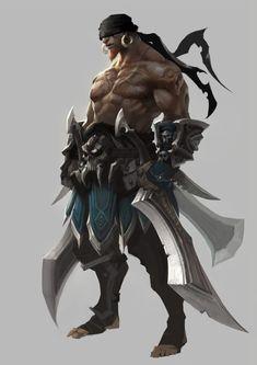 Zul'har: Le second des indomptés Fantasy Warrior, Fantasy Rpg, Medieval Fantasy, Fantasy Artwork, Dark Fantasy, Fantasy Character Design, Character Design Inspiration, Character Concept, Character Art