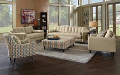 Avenue Upholstery Collection | Furniture.com-Sofa $499.99