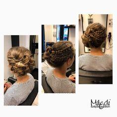 Ez a szombat sem telhet el próbakonty nélkül :) Dreadlocks, Hairdresser, Hair Styles, Beauty, Fashion, Hair Plait Styles, Moda, Fashion Styles, Hair Makeup