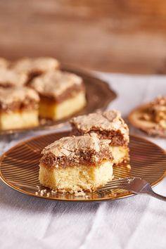 Dióhabos kocka | Street Kitchen Poppy Cake, Dessert Bars, Apple Pie, French Toast, Food And Drink, Cooking Recipes, Breakfast, Street, Kitchen