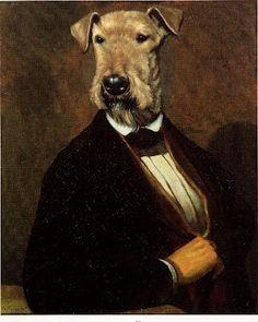 More Dog Art (Anthropomorphic) | Something Beautiful